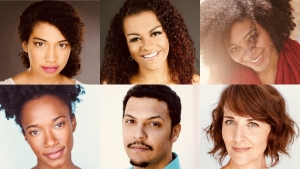 Clockwise from top left: Daisy Allred, Aaliyah Ann, Latoya Cameron, Susanna Florence, Bradley Hatch, and Amanda Morris